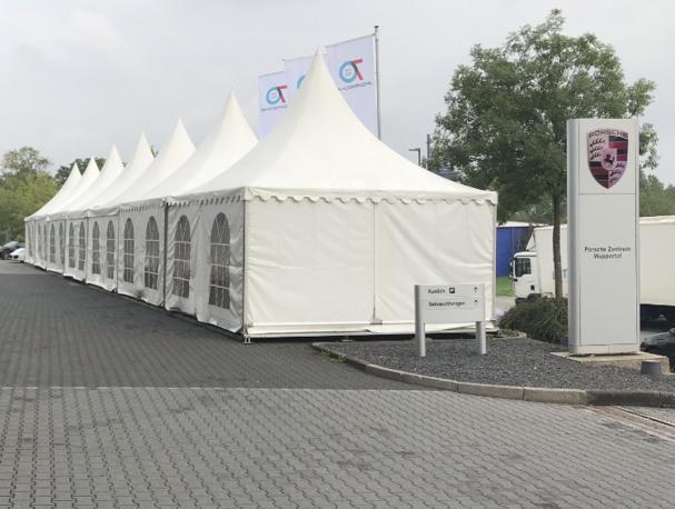 Zeltvermietung Zeltverleih in Essen in Bottrop in Düsseldorf